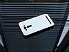 Motomo Prizma Asus ZenFone 2 Laser 5,5 inç Metal Silver Rubber Kılıf - Resim 1