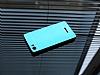 Motomo Prizma Casper Via M1 Metal Mavi Rubber Kılıf - Resim 1