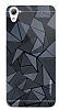 Motomo Prizma HTC Desire 826 Metal Siyah Rubber Kılıf