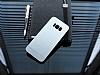Motomo Prizma Samsung Galaxy S8 Metal Silver Rubber Kılıf - Resim 1