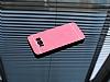 Motomo Prizma Samsung Galaxy S8 Metal Kırmızı Rubber Kılıf - Resim 1