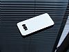 Motomo Prizma Samsung Galaxy S8 Plus Metal Silver Rubber Kılıf - Resim 2