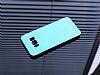Motomo Prizma Samsung Galaxy S8 Plus Metal Mavi Rubber Kılıf - Resim 1