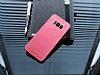 Motomo Prizma Samsung Galaxy S8 Plus Metal Kırmızı Rubber Kılıf - Resim 1
