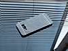 Motomo Prizma Samsung Galaxy S8 Plus Metal Siyah Rubber Kılıf - Resim 1