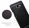 Motomo Samsung Galaxy J7 Prime Metal Pembe Rubber Kılıf - Resim 4