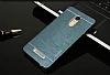 Motomo Xiaomi Redmi Note 3 Metal Lacivert Rubber Kılıf - Resim 1
