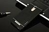 Motomo Xiaomi Redmi Note 3 Metal Siyah Rubber Kılıf - Resim 1