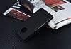 Motorola Moto E4 Plus Gizli Mıknatıslı Standlı Siyah Deri Kılıf - Resim 2