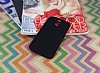 Motorola Moto G4 Plus Tam Kenar Koruma Siyah Rubber Kılıf - Resim 1