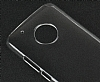 Motorola Moto G5 Plus Şeffaf Kristal Kılıf - Resim 4