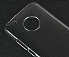 Motorola Moto G5 Şeffaf Kristal Kılıf - Resim 4