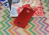 Motorola Moto Z Play Tam Kenar Koruma Kırmızı Rubber Kılıf - Resim 1