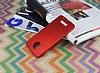 Motorola Moto Z Tam Kenar Koruma Kırmızı Rubber Kılıf - Resim 2