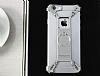 Nillkin iPhone 6 / 6S Selfie Yüzüklü Metal Bumper Silver Kılıf - Resim 8