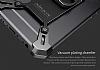 Nillkin iPhone 6 / 6S Selfie Yüzüklü Metal Bumper Silver Kılıf - Resim 6