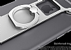 Nillkin iPhone 6 / 6S Selfie Yüzüklü Metal Bumper Silver Kılıf - Resim 4