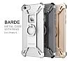 Nillkin iPhone 6 / 6S Selfie Yüzüklü Metal Bumper Silver Kılıf - Resim 7