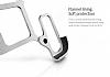 Nillkin iPhone 7 Plus Selfie Yüzüklü Metal Bumper Silver Kılıf - Resim 7