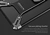 Nillkin iPhone 7 Plus Selfie Yüzüklü Metal Bumper Silver Kılıf - Resim 6
