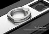 Nillkin iPhone 7 Plus Selfie Yüzüklü Metal Bumper Silver Kılıf - Resim 5