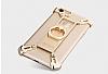 Nillkin iPhone 7 / 8 Selfie Yüzüklü Metal Bumper Gold Kılıf - Resim 1