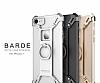 Nillkin iPhone 7 / 8 Selfie Yüzüklü Metal Bumper Gold Kılıf - Resim 12