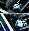 Nillkin Jelly Çift USB Girişli Mavi Araç Şarj Aleti - Resim 11