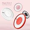 Nillkin Magic Disk 4 Kablosuz Beyaz Hızlı Şarj Cihazı - Resim 4