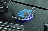 Nillkin Magic Disk II iPhone 7 Beyaz Kablosuz Şarj Cihazı - Resim 9