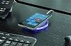 Nillkin Magic Disk II iPhone SE / 5 / 5S Beyaz Kablosuz Şarj Cihazı - Resim 9