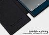 Nillkin Sony Xperia XZ Premium Cüzdanlı Yan Kapaklı Siyah Deri Kılıf - Resim 7