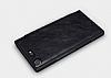 Nillkin Sony Xperia XZ Premium Cüzdanlı Yan Kapaklı Siyah Deri Kılıf - Resim 2