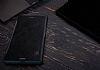 Nillkin Sony Xperia XZ Premium Cüzdanlı Yan Kapaklı Siyah Deri Kılıf - Resim 5