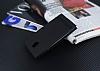 Nokia 3 Gizli Mıknatıslı Yan Kapaklı Siyah Deri Kılıf - Resim 2