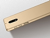 Nokia 3 Tam Kenar Koruma Gold Rubber Kılıf - Resim 1