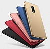 Nokia 3 Tam Kenar Koruma Rose Gold Rubber Kılıf - Resim 4