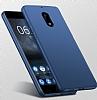 Nokia 5 Tam Kenar Koruma Kırmızı Rubber Kılıf - Resim 4