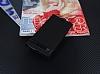 Nokia 6 Gizli Mıknatıslı Yan Kapaklı Siyah Deri Kılıf - Resim 1