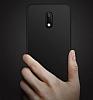 Nokia 6 Mat Mürdüm Silikon Kılıf - Resim 4