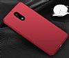 Nokia 6 Tam Kenar Koruma Kırmızı Rubber Kılıf - Resim 1