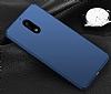 Nokia 6 Tam Kenar Koruma Lacivert Rubber Kılıf - Resim 1