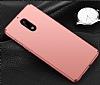 Nokia 6 Tam Kenar Koruma Rose Gold Rubber Kılıf - Resim 1