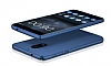 Nokia 6 Tam Kenar Koruma Lacivert Rubber Kılıf - Resim 3