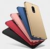 Nokia 6 Tam Kenar Koruma Rose Gold Rubber Kılıf - Resim 5