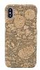 NY Cork iPhone X / XS Natural Mantar Kaplama Premium Kılıf - Resim 1