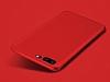 OnePlus 5 Mat Kırmızı Silikon Kılıf - Resim 1