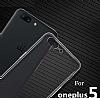 OnePlus 5 Ultra İnce Şeffaf Silikon Kılıf - Resim 3