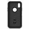 OtterBox Defender iPhone X Siyah Kılıf - Resim 5
