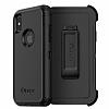 OtterBox Defender iPhone X Siyah Kılıf - Resim 1